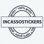 incasso sticker